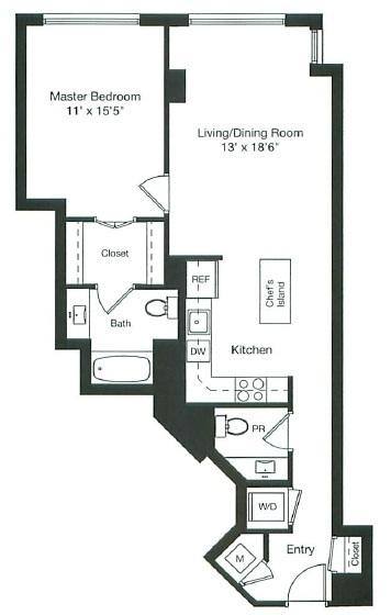 floor plan image of 1-1103