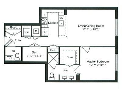 Apartment 5-0307 floorplan