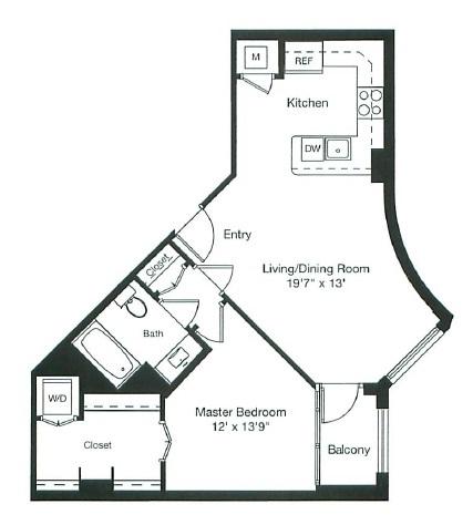 floor plan image of 1-0412