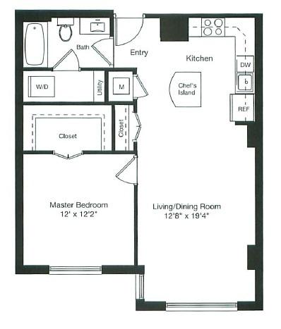 floor plan image of 1-0722