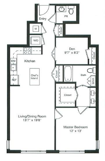 floor plan image of 5-1107