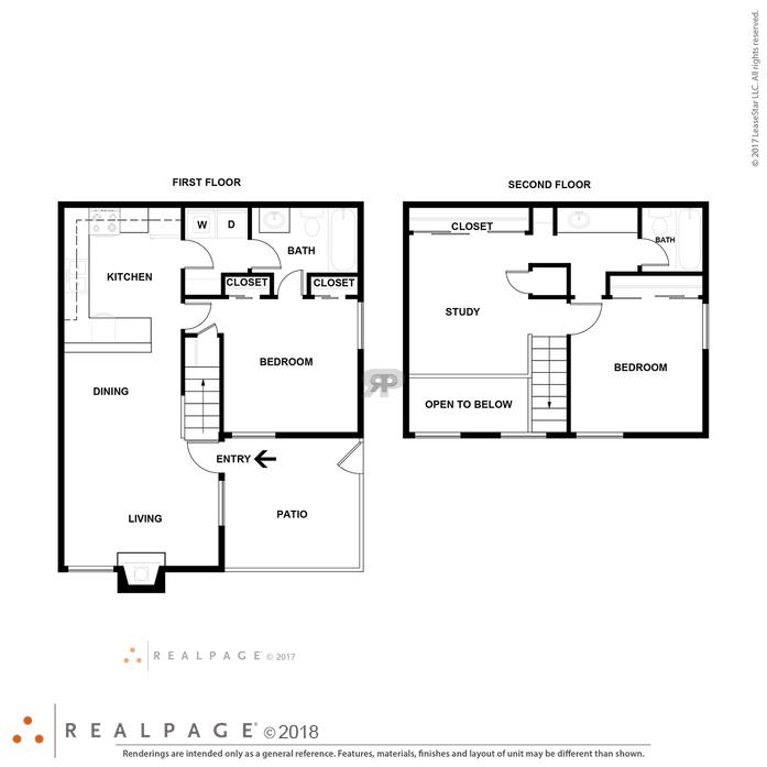Floor Plans For McKinney Apartments At Cedar Creek Village