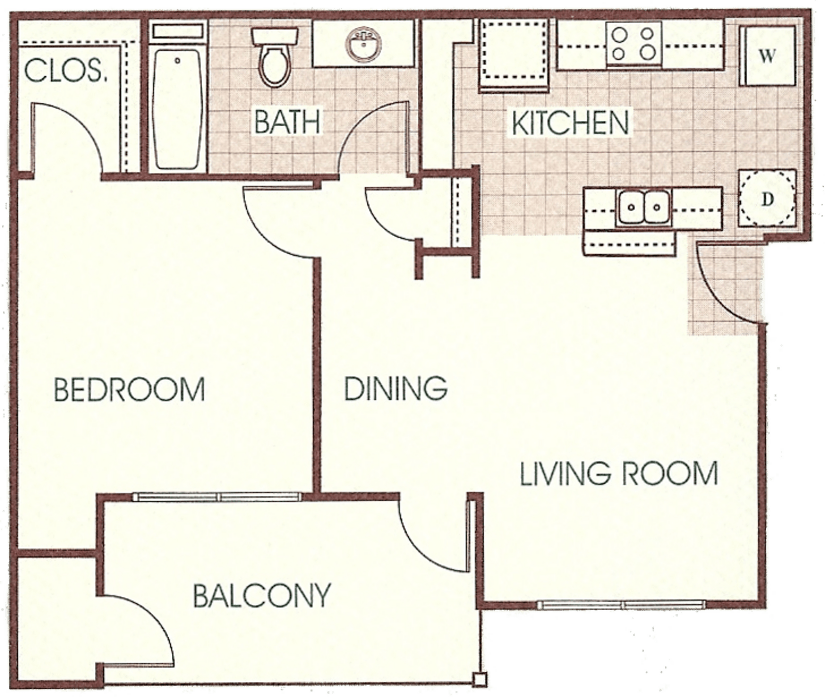 Terrell, TX Timbers At The Park Floor Plans
