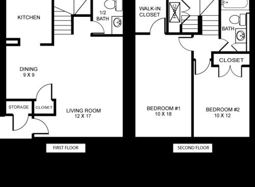 new orleans  la huntington park floor plans