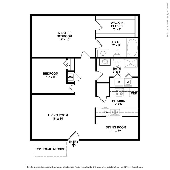 Parkview Place Apartments: Hagerstown, MD Parkview Place Apartments Floor Plans