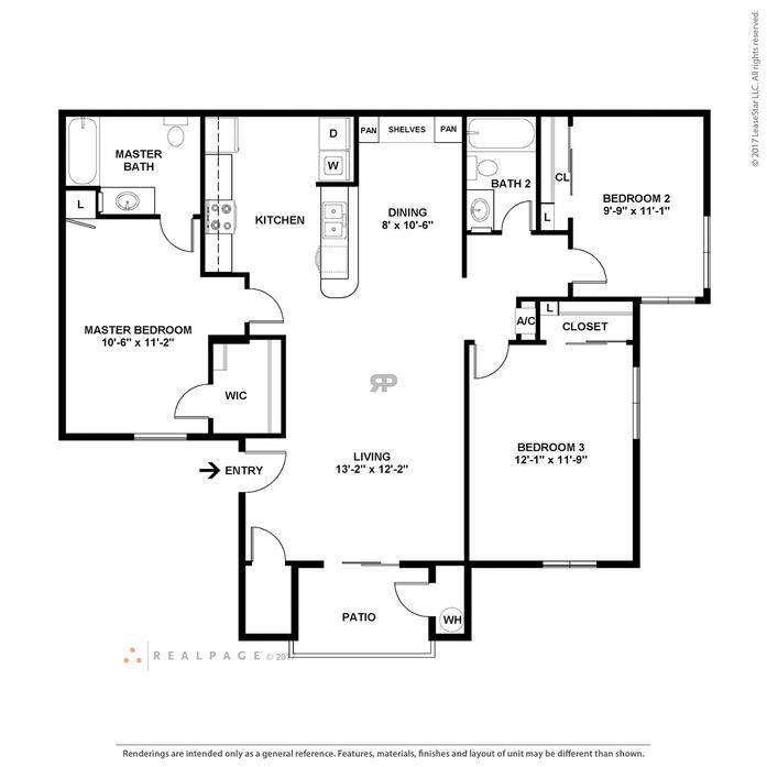865 Bellevue Apartments: 1-3 Bedroom Apartments Las Vegas