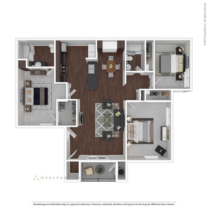 1 3 bedroom apartments las vegas floor plans at casabella - Three bedroom apartments las vegas ...