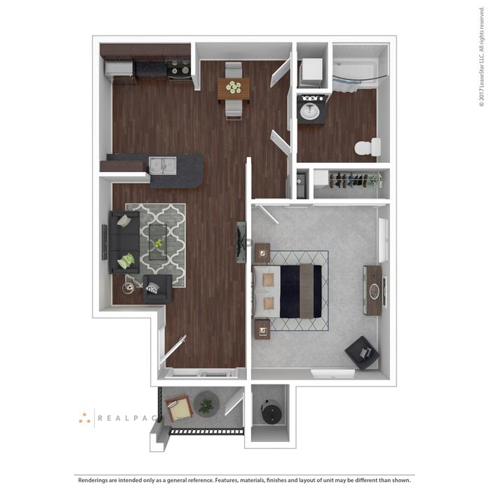 1-3 Bedroom Apartments Las Vegas