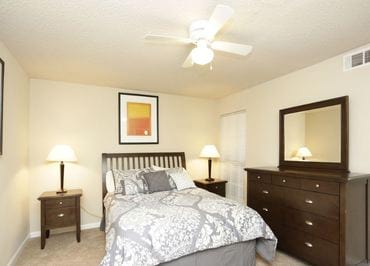 Westchase Apartments Floor Plans - Bedroom