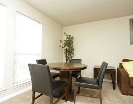 Westchase Apartments Floor Plans - Dining Room