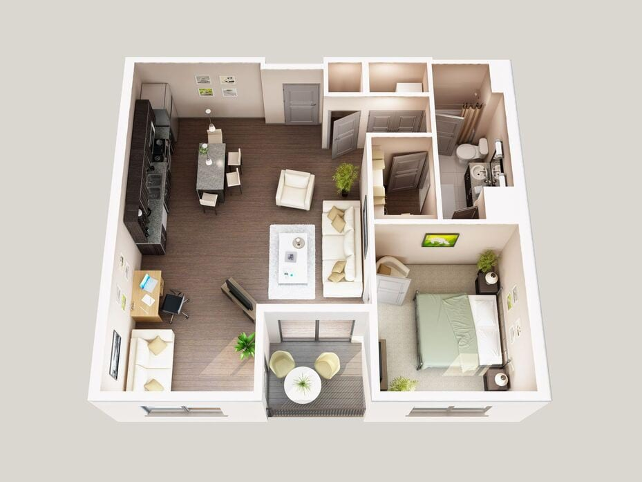 Dayton, OH Water Street Floor Plans | Apartments in Dayton, OH ...