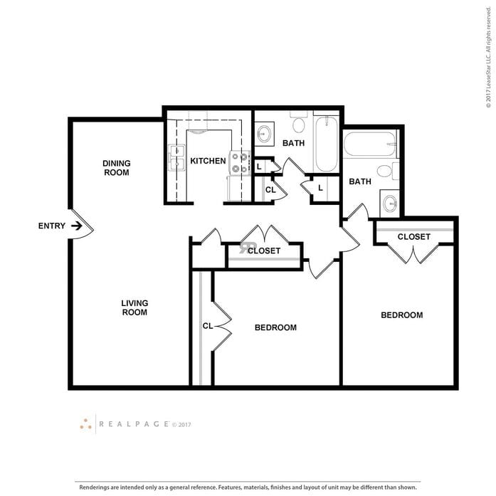 Cabrillo Apartments: San Antonio, TX Pawell Village Floor Plans