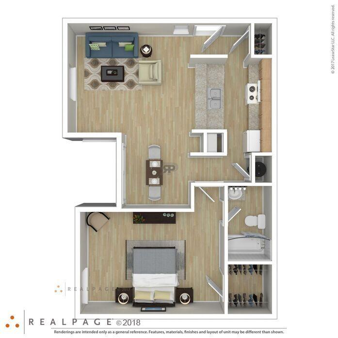 Las Cruces, NM Sierra Verde Apartments Floor Plans