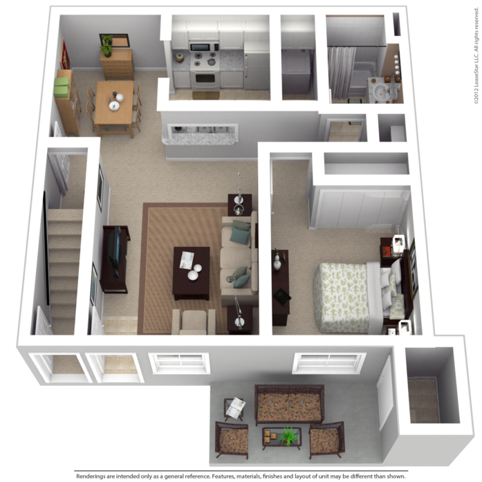 Fitchburg, WI Fitchburg Springs Floor Plans | Apartments in ...