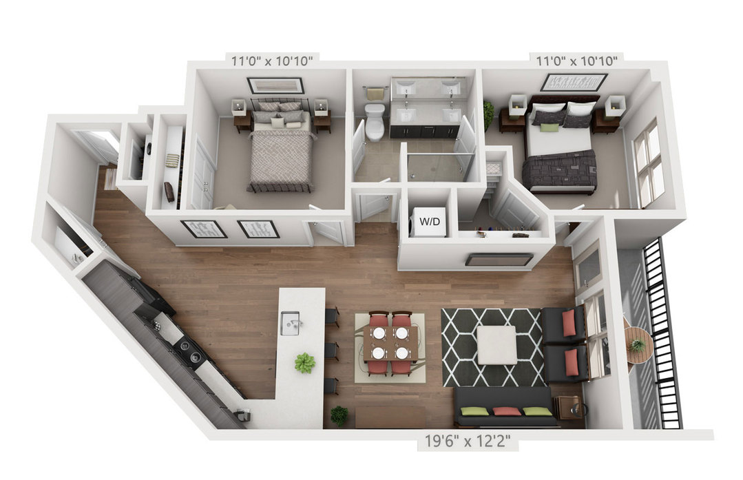 Wellshire Apartments Denver | Studios, 1, & 2 Bedrooms at Muse