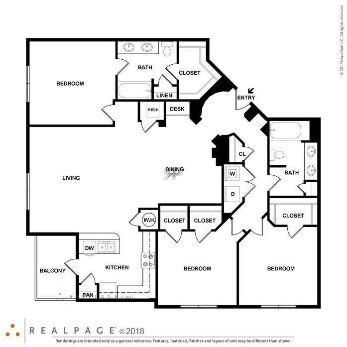 Hardwood Flooring Keller Tx: Carrollton, TX Keller Springs Crossing Floor Plans