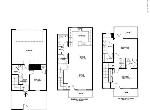 3 bedroom floor plans at refugio