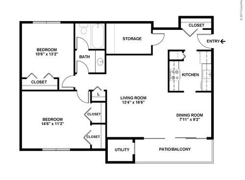 Ypsilanti Mi The Lake Shore Apartments Floor Plans