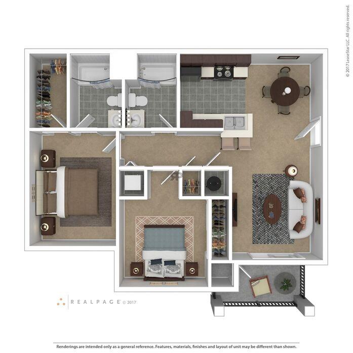 Valley Creek Apartments: Sun Valley, NV Boulder Creek Floor Plans