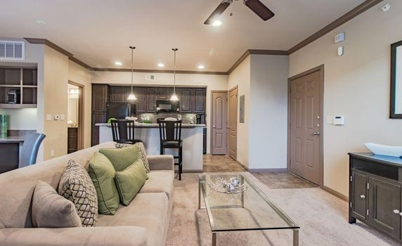 The Reserve at Jones Road Floor Plans - Living Room