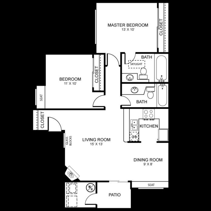floor plans at martinique bay apartments floor plans