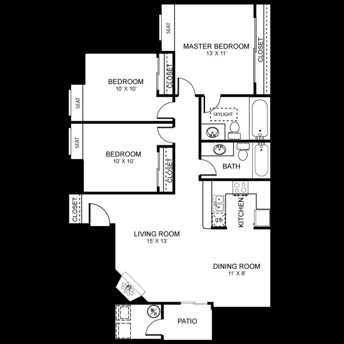 Seneca Bay Apartments: Floor Plans At Martinique Bay Apartments Floor Plans