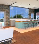 Lounge-Continuum 115 Apartments