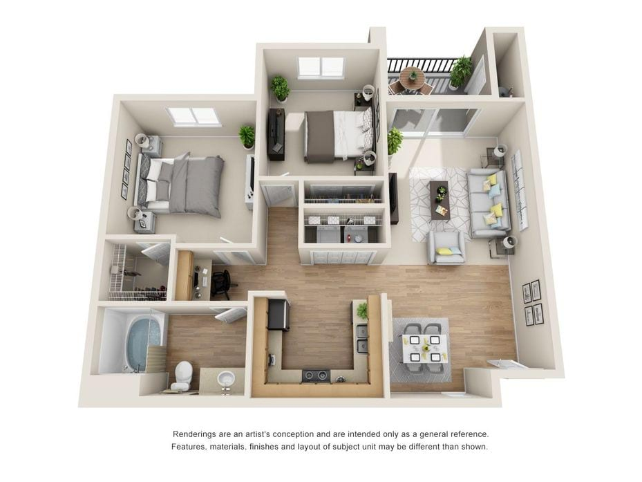 Valencia CA Apartments | Provence at Valencia Floor Plans