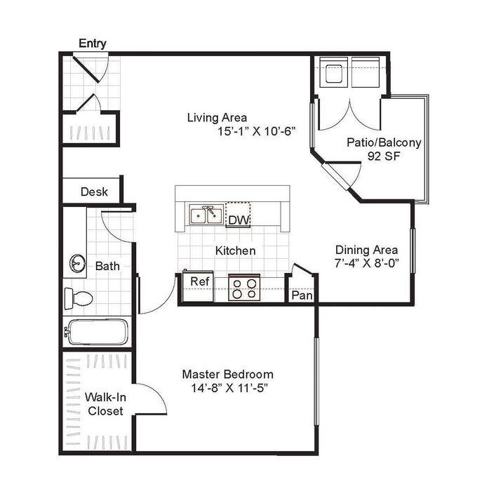 1 3 bedroom apartments san antonio brynwood floor plans - 3 bedroom apartments san antonio ...
