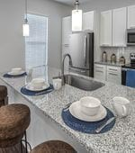 Kitchen-The Lowrie Apartments