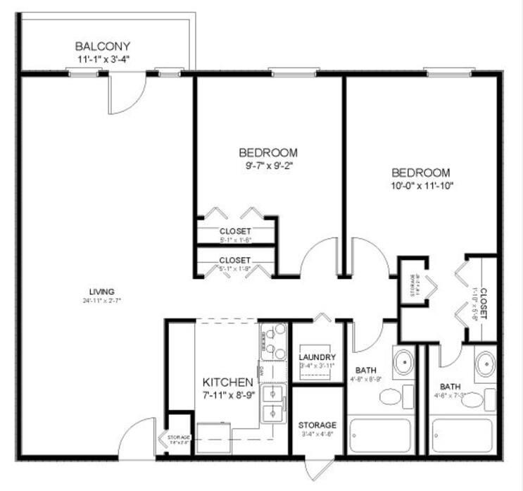 Floor Plans At Quail Ridge Apartments