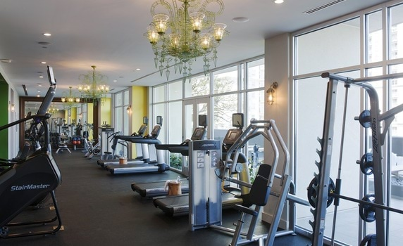 Fitness Center-Yoo on the Park Apartments