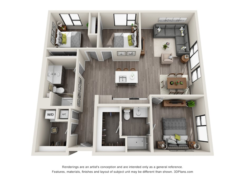 3D Furnished Apartments in Los Angeles