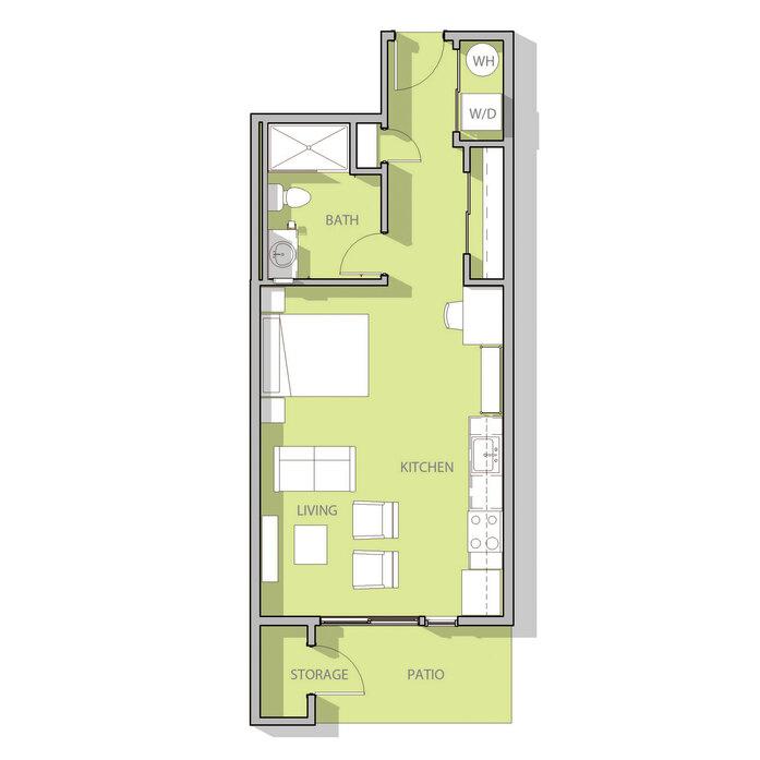 Apartments for Rent in Santa Fe, NM | Railyard Flats Floor Plans