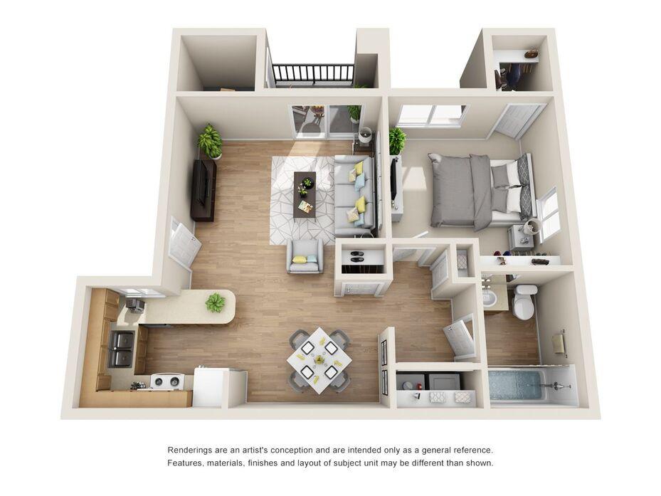 1 Bedroom Apt In Phx Az Vaseo Apartments Phoenix See Reviews Pics