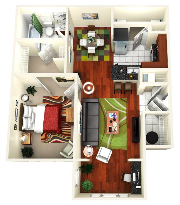 1-3 Bedroom Apartments Jacksonville, FL