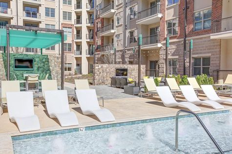 Pool-Centric Gateway Apartments