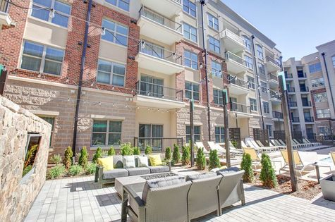 Outdoor Lounge-Centric Gateway Apartments