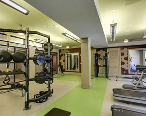 Fitness Center-Centric Gateway Apartments