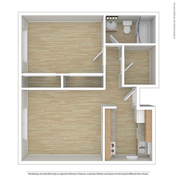 Conifer Creek Apartments: Rohnert Park, CA Creekview Place Floor Plans