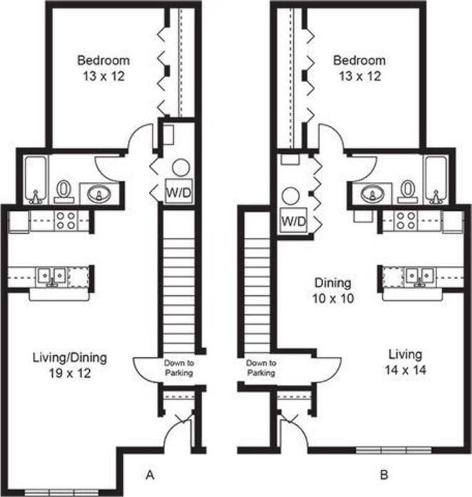 Burnsville, MN Southwind Village Floor Plans