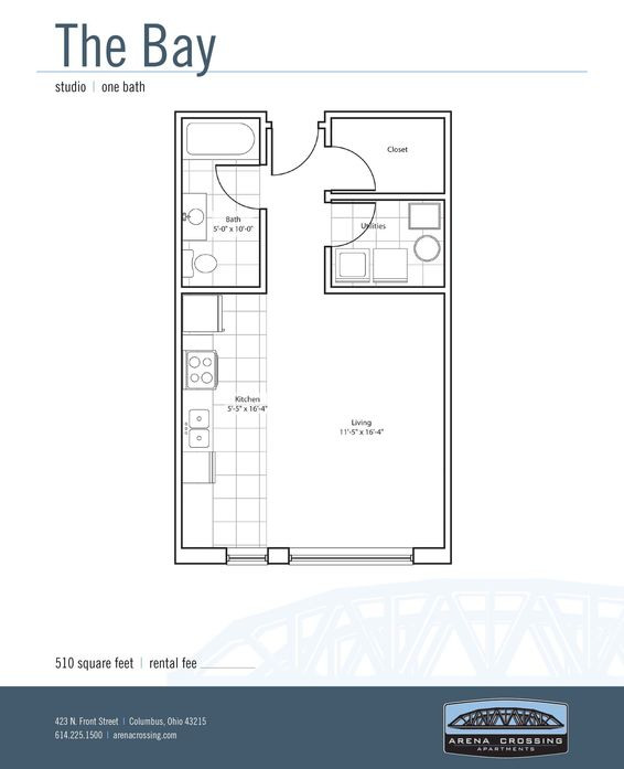 Studio Apartments, 1 & 2 Bedroom Floor Plans | Arena Crossing