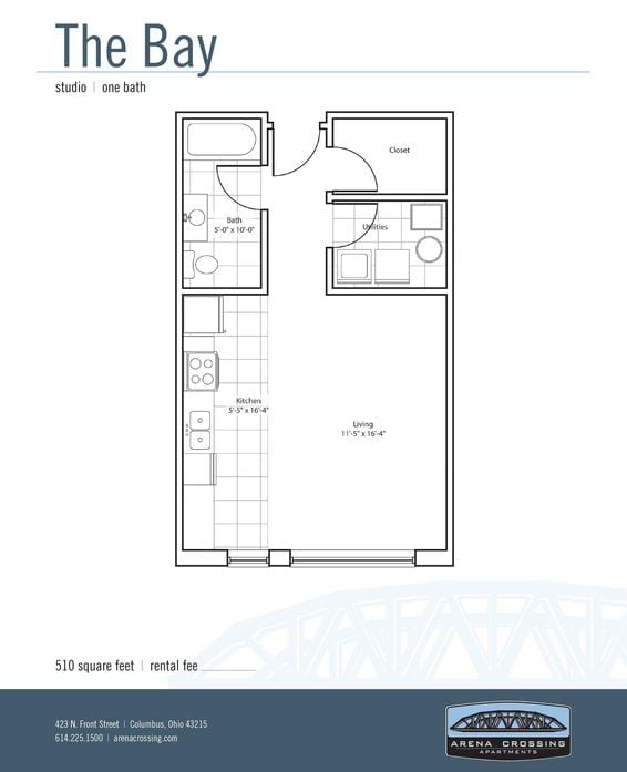 Studio Apartments, 1 & 2 Bedroom Floor Plans | Arena ...