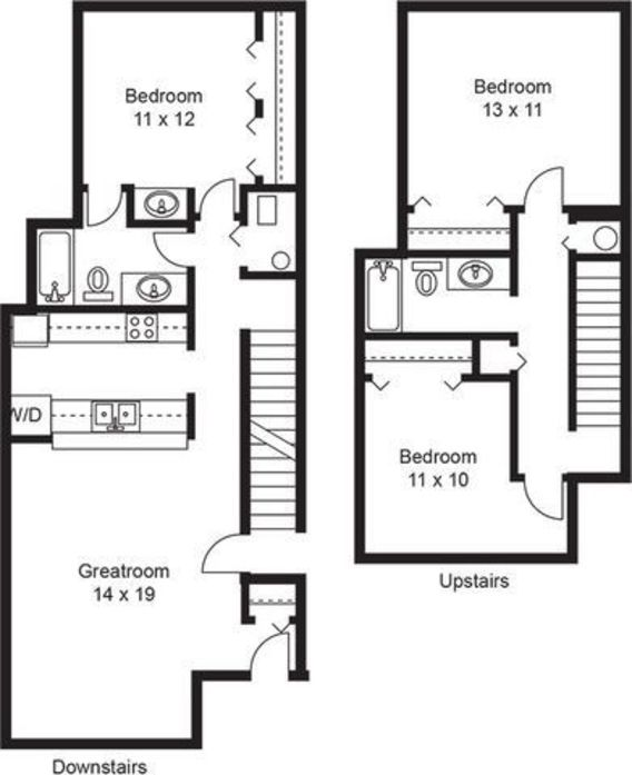 Burnsville Apartments: Burnsville, MN Southwind Village Floor Plans