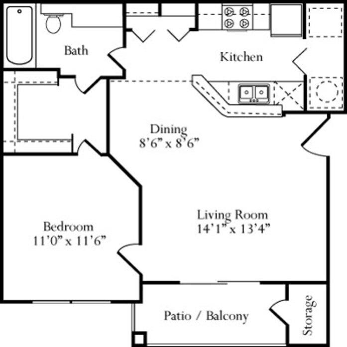 One Bedroom Apartments Arlington Tx: 1-4 Bedroom Apartments Arlington, TX