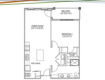 Apartments in Grandview Heights | Floor Plans Apartments at the Yard