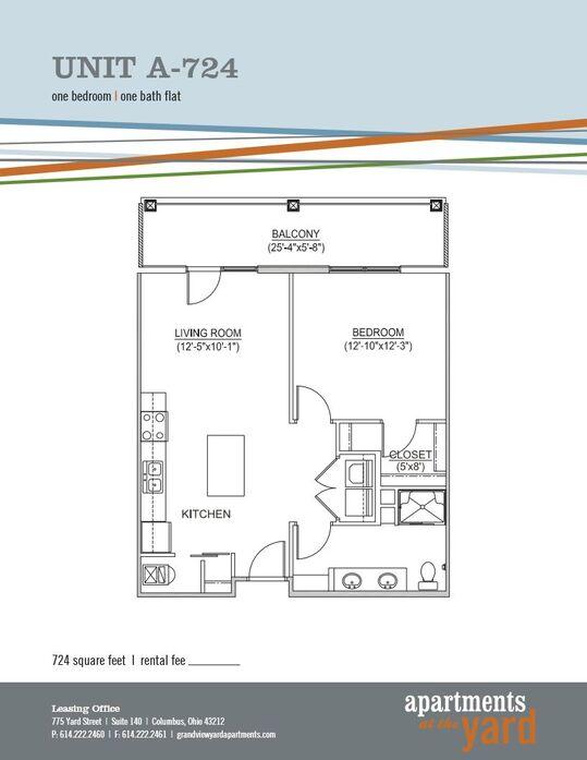 Studio Apartments, 1 & 2 Bedroom Floor Plan | Apartments at