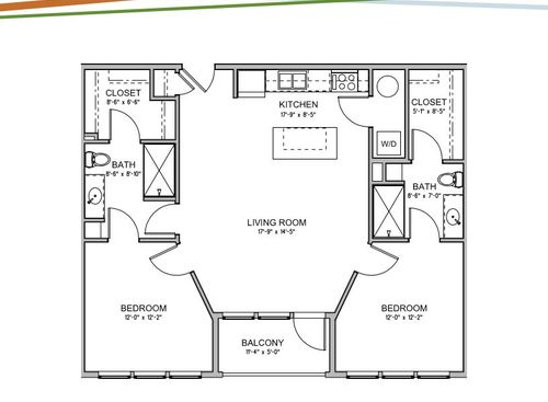 Studio Apartments 1 Amp 2 Bedroom Floor Plan Apartments
