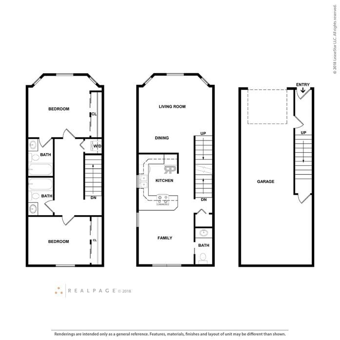 Tacoma Wa Pine Street Townhomes Floor Plans Apartments