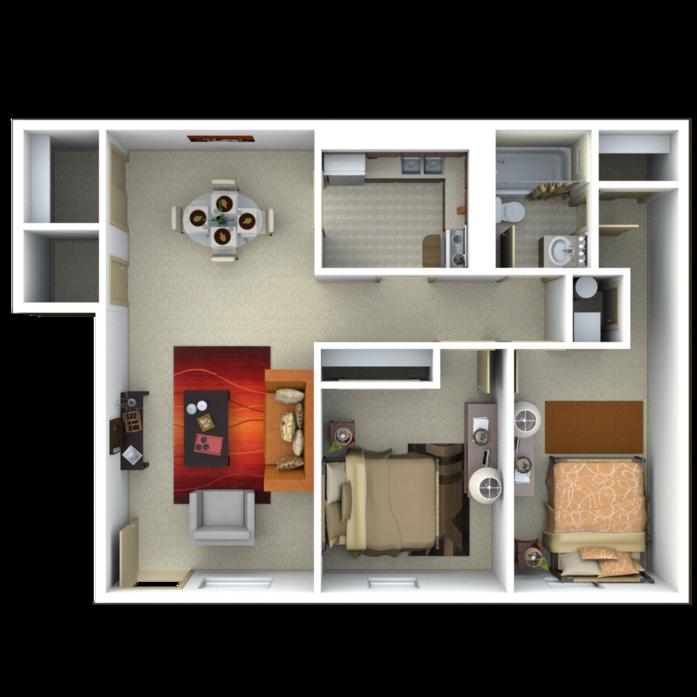 Big 2 Bedroom Apartments Apartment Decorating Ideas